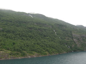 Il fiordo di Geiranger.