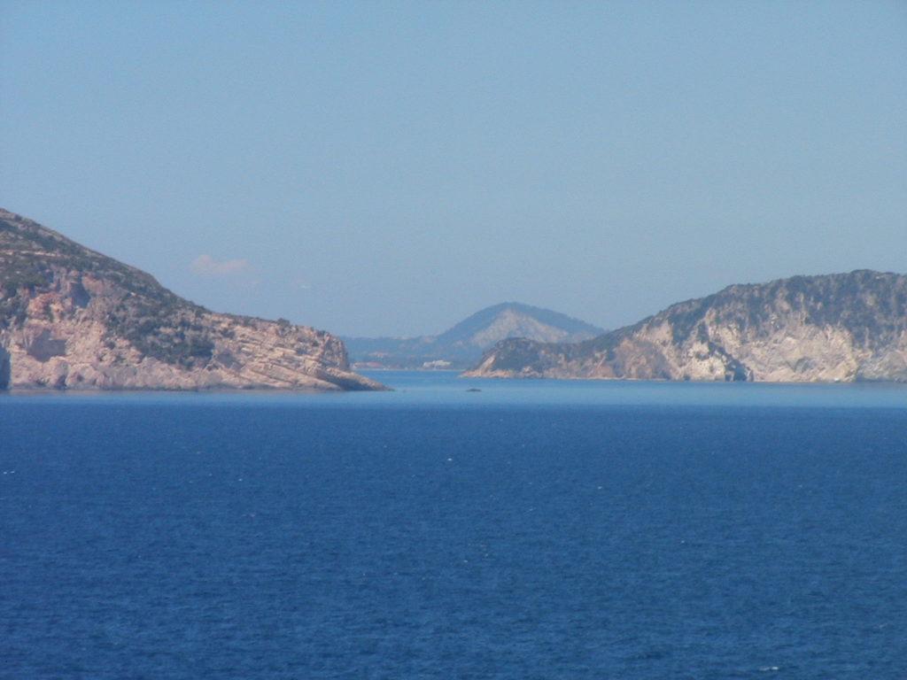 L'isola di Zante.