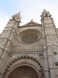 La Cattedrale, particolare.