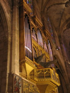 La Cattedrale, interno.