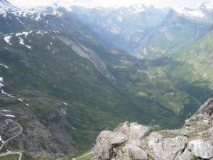 Geiranger vista dal Monte Dalsnibba.