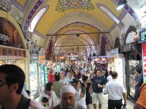 Istanbul, il Gran Bazar.