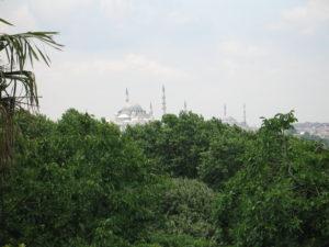 Istanbul vista dal palazzo Topkapi.