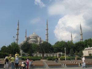 Istanbul, la Moschea Blu.