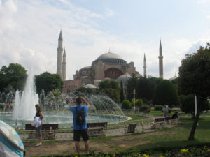Istanbul, la Santa Sofia.