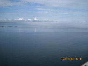 L'Oceano Atlantico.