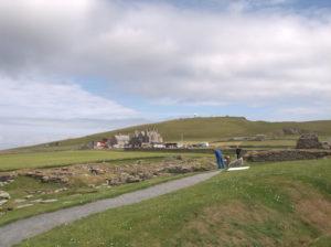 Paesaggio delle Shetland.