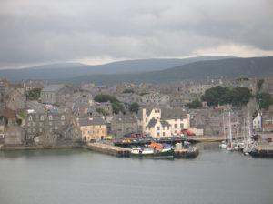 Lerwick, isole Shetland.