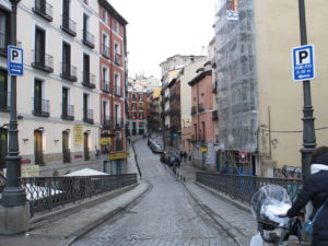 Madrid. Uno scorcio
