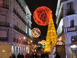 Andando verso Plaza Puerta del Sol