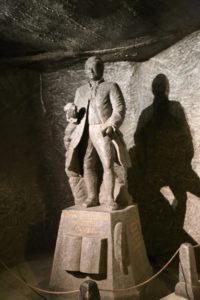 Una statua di sale.
