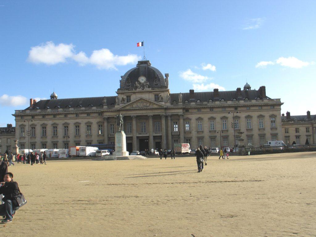 Parigi, la scuola militare.