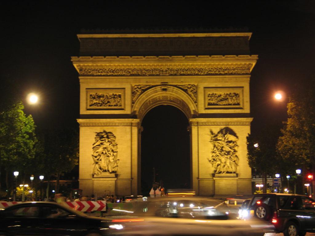 L'Arco di Trionfo.