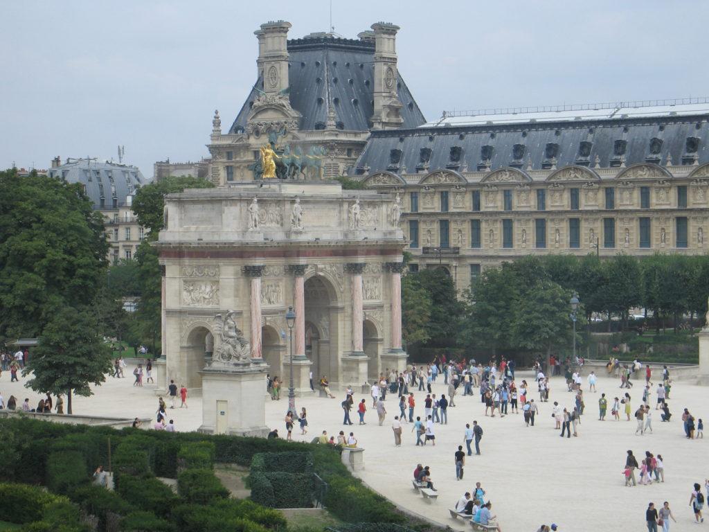 L'Arco di Trionfo del Carrousel.