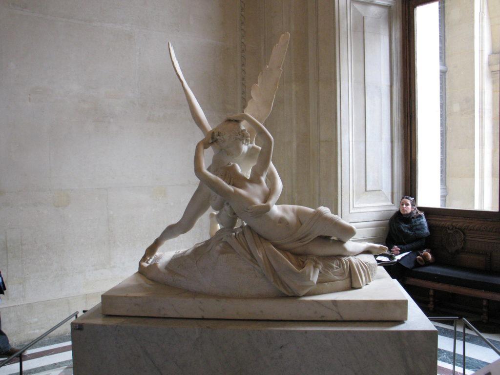 Louvre, Amore e Psice del Canova.