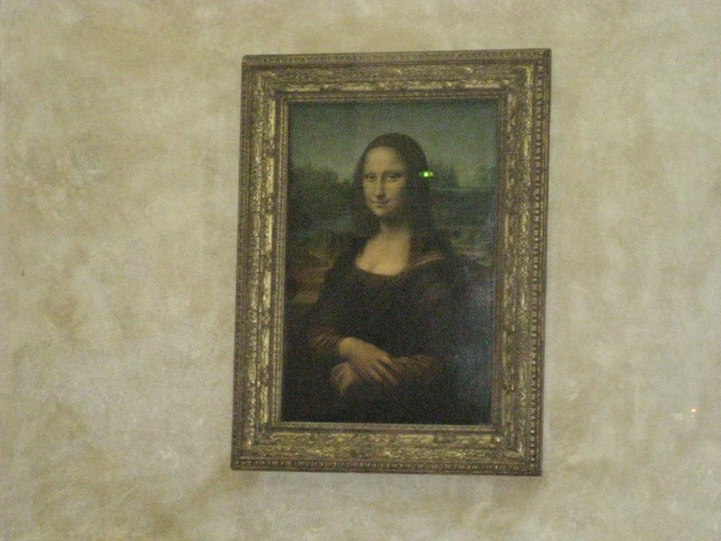 Louvre, la Gioconda.