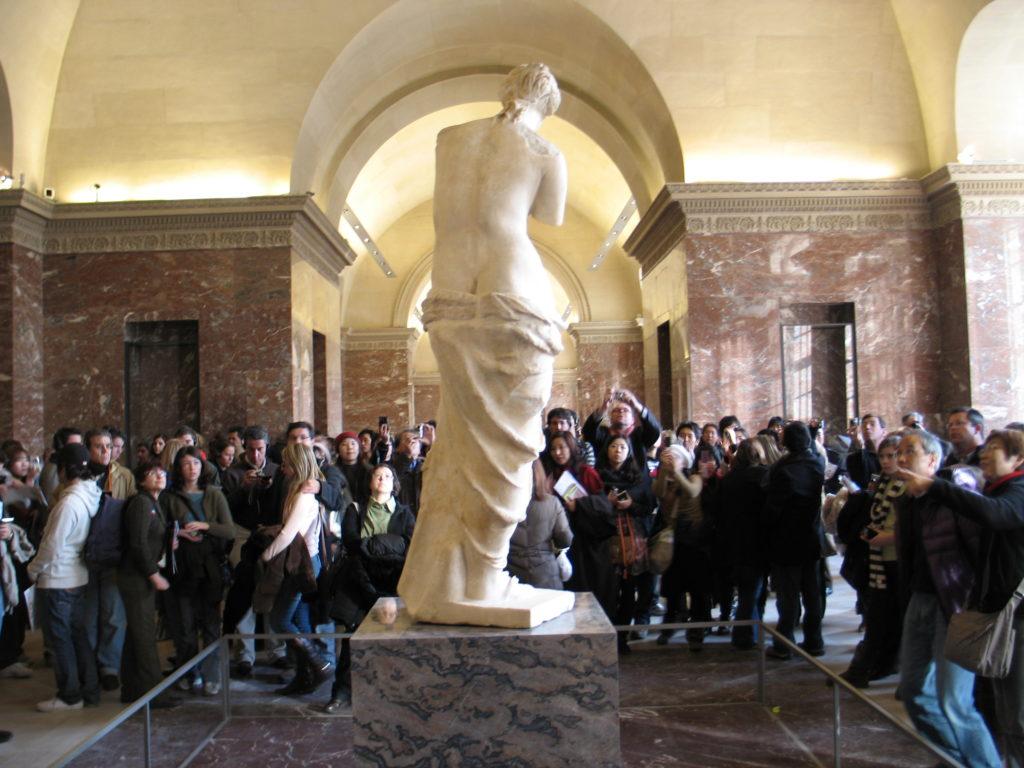 Louvre, la Venere di Milo.