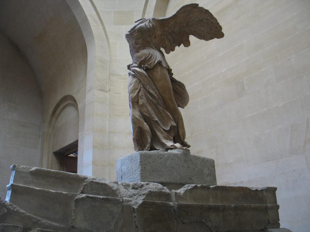 Louvre, la Nike.