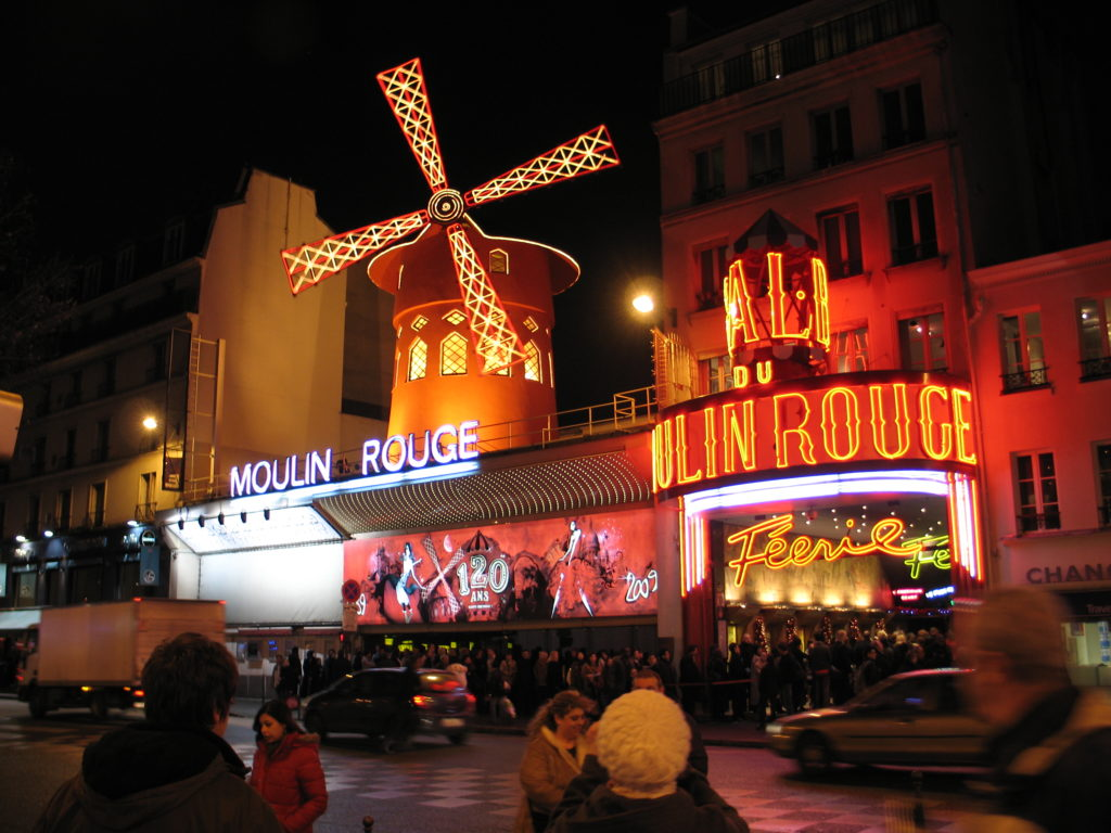 Il Moulin Rouge.