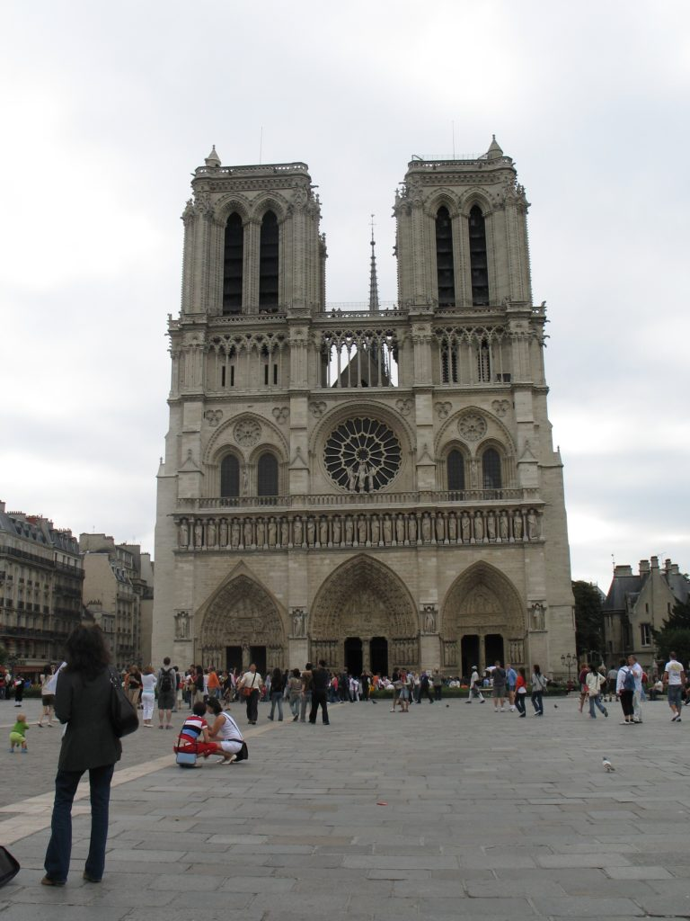 La cattedrale di Notre Dame.