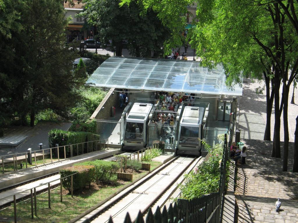 Funiculaire - Gare Haute