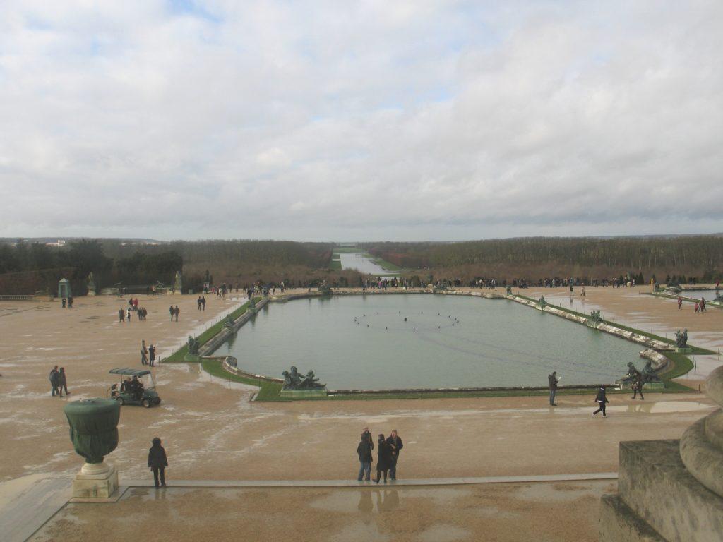 Versailles, il parco del Castello.