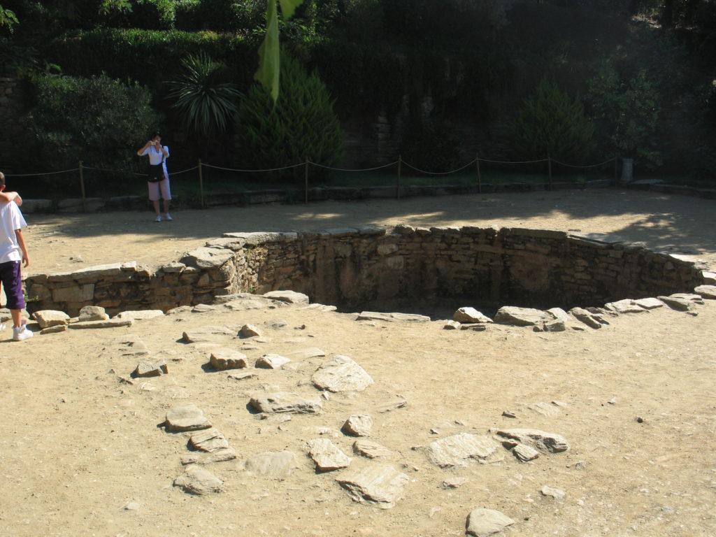 La cisterna della Casa di Maria.