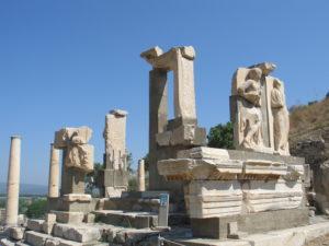 Efeso, gli scavi.
