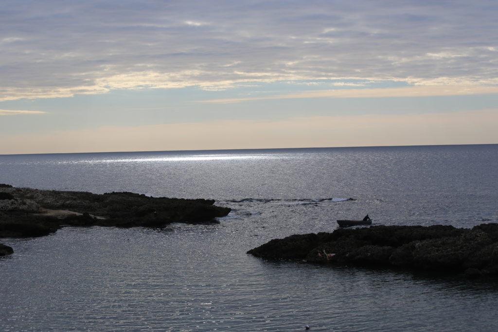 La costa tarantina.