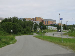 Tromso, la clinica universitaria.