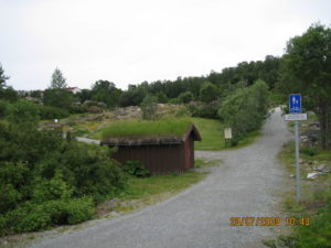 Tromso, il giardino botanico.
