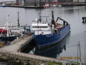 Tromso, il porto.