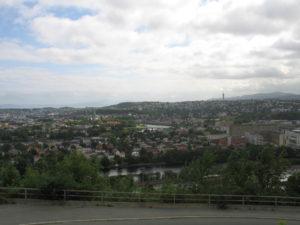 Trondheim, Panorama.