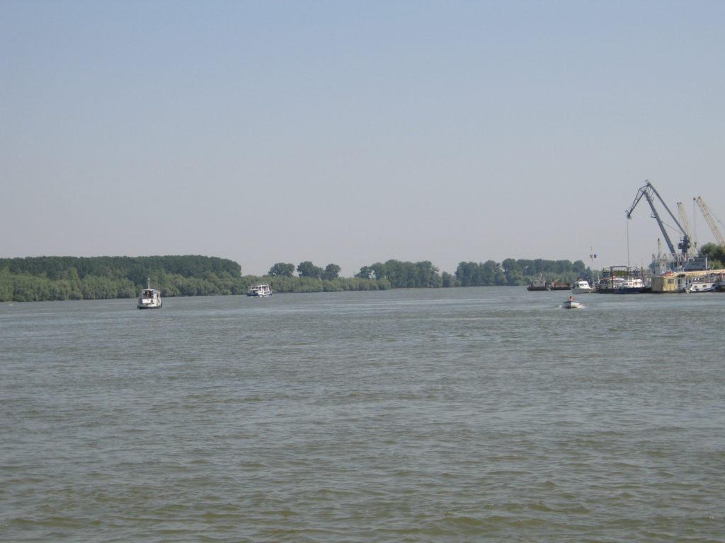 Tulcea, il delta del Danubio.