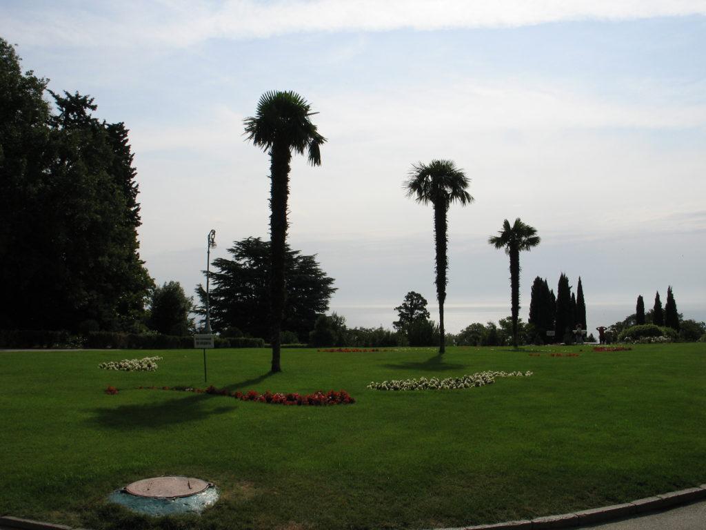 Il Palazzo di Livadia, il parco.