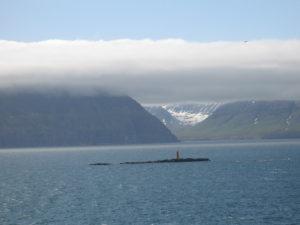 Il fiordo di Akureyri
