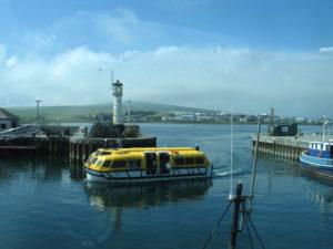 Kirkwall, il porto. – Isole Orcadi (Scozia)