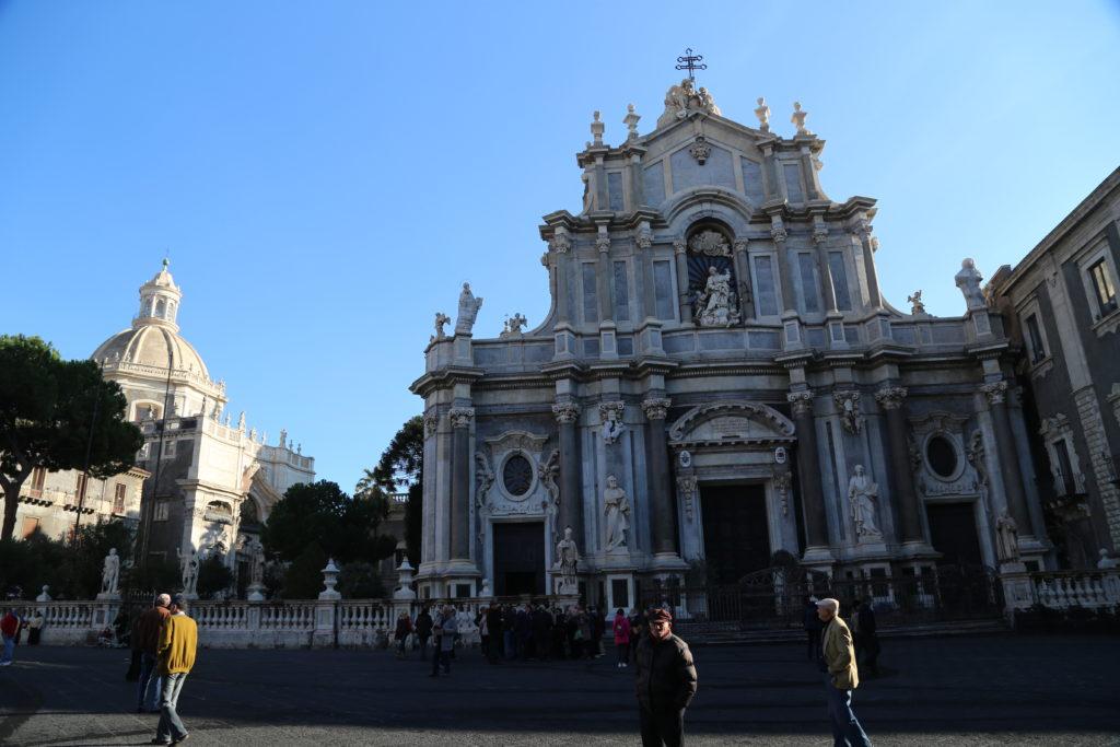 Piazza del Duomo - Cattedrale di Sant'Agata.
