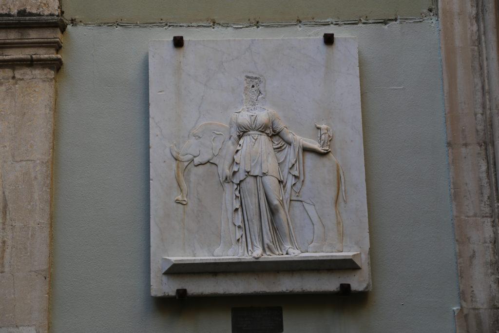 Palazzo del Municipio - Particolare dell'interno.