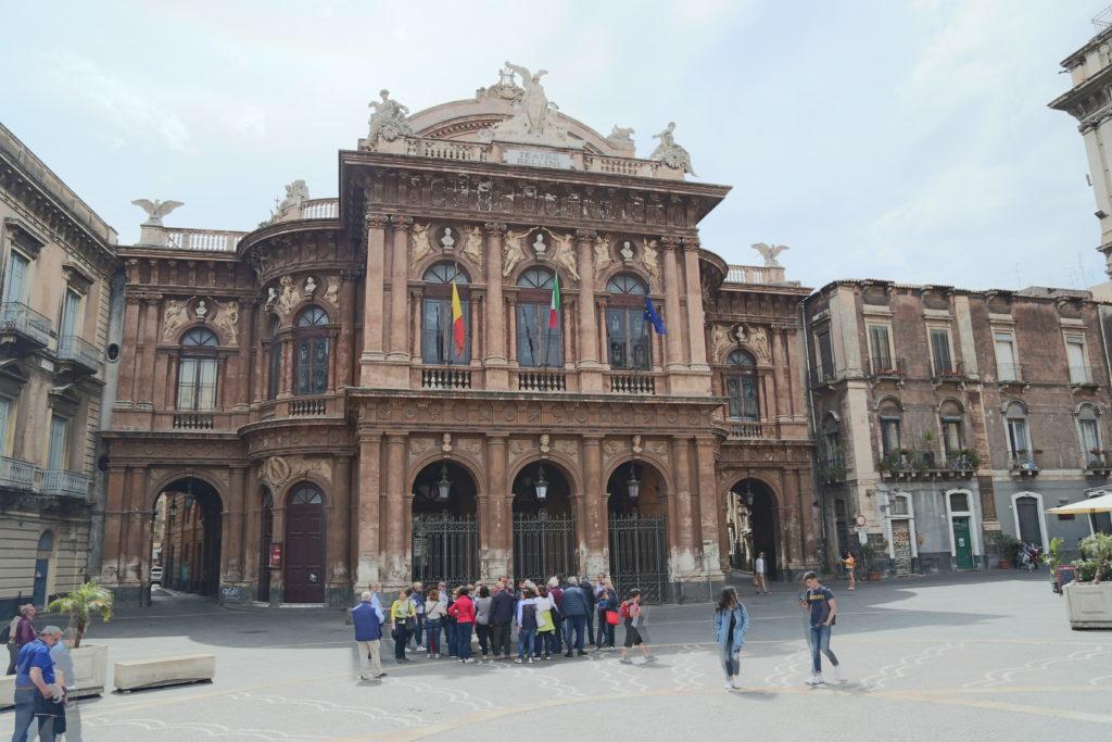 Teatro Massimo Bellini.