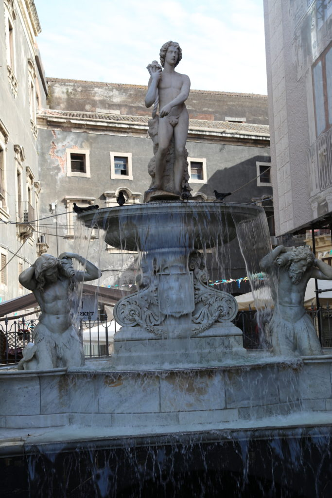 Fontana dell'Amenano.