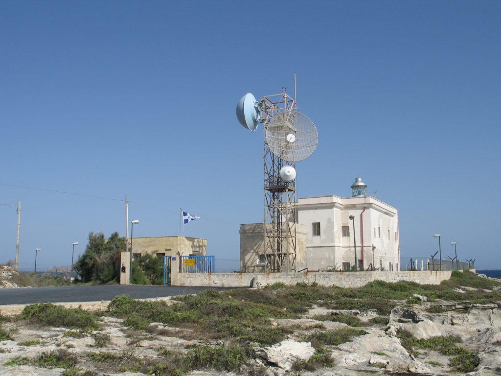 Il faro di Punta Marsala.