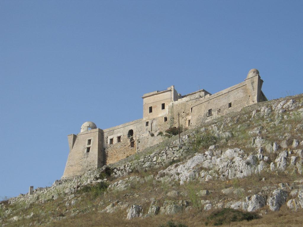 I resti del Forte di Santa Caterina.