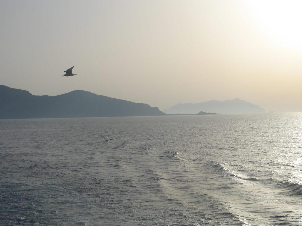 Favignana e Marettimo al tramonto