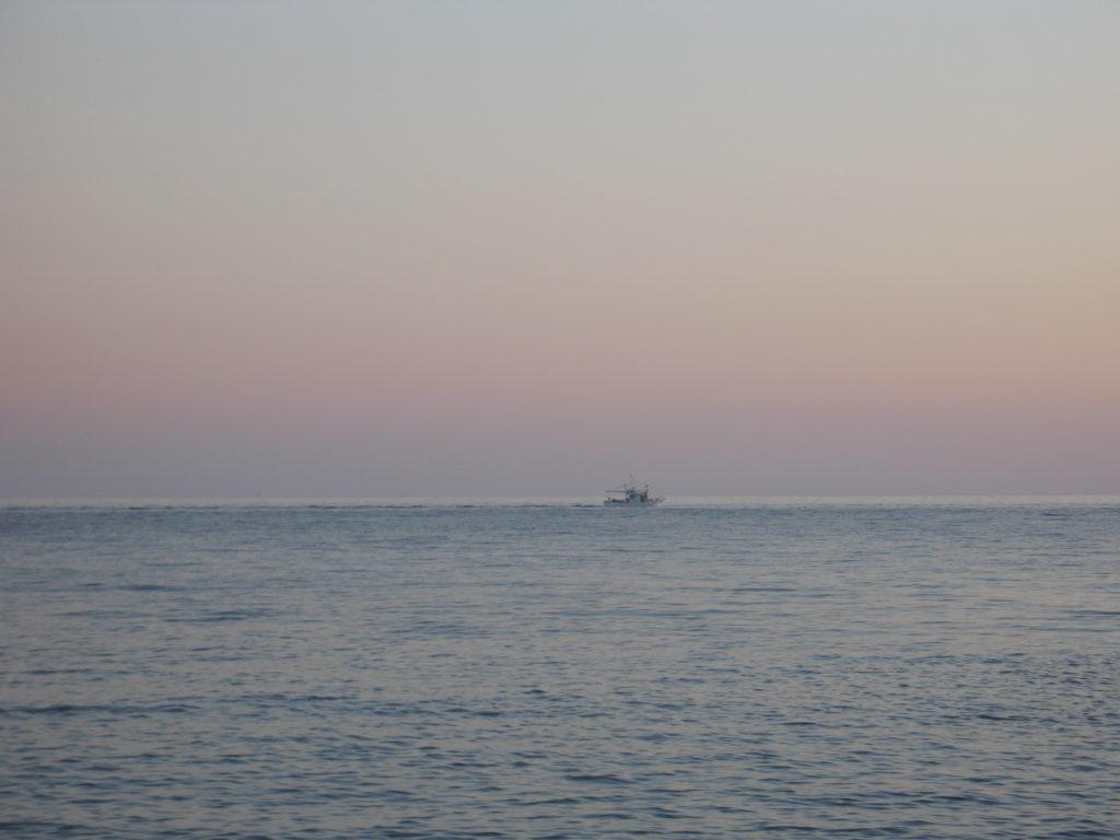 Tramonto a Punta Sottile.
