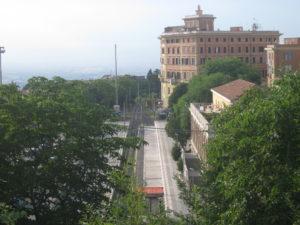 La Stazione ferroviaria di Frascati.