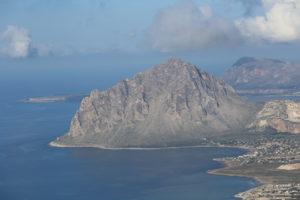 Panorama su Monte Cofano