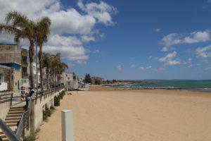 La spiaggia.