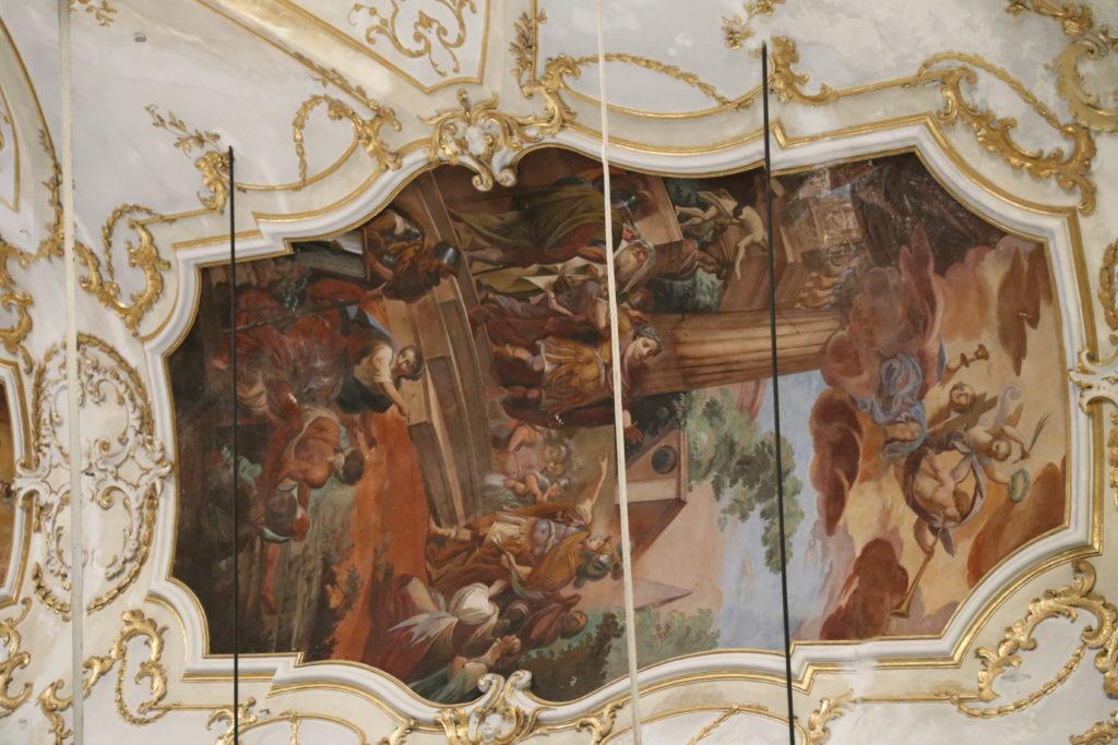 Parrocchia di San Sebastiano - Interno.
