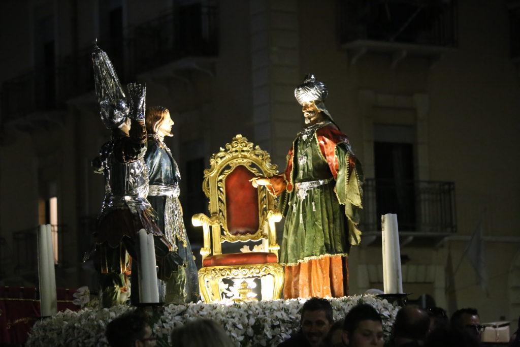 Gesù dinnanzi ad Hanna - Ceto dei Fruttivendoli.